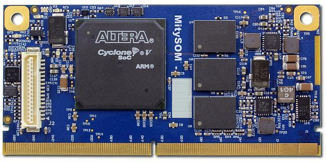 MitySOM-5CSX with Altera Cyclone V SoC