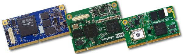 system-on-modules with DSP, ARM, FPGA